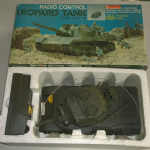 retro 70's Radio control Leopard Tank Hong Kong by dynamic toys boxed @sold@